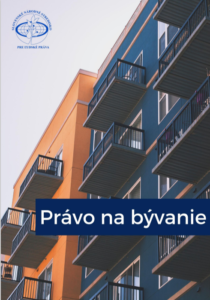 Obálka publikácie Právo na bývanie